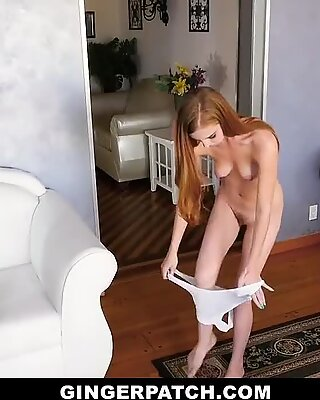 GingerPatch - Red Head Ava Parker Takes Cock In Onesie