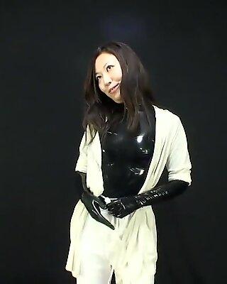 Japanese Latex Catsuit 87