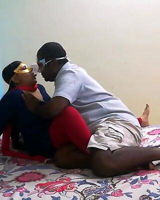 Indian Lovely Bhabhi Seducing Her Desi Husband In Bedroom