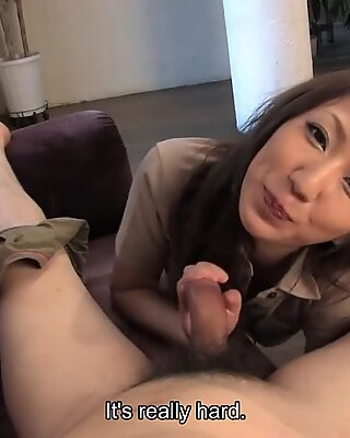 Gorgeous Asian is thrilled to suck and ride in POV