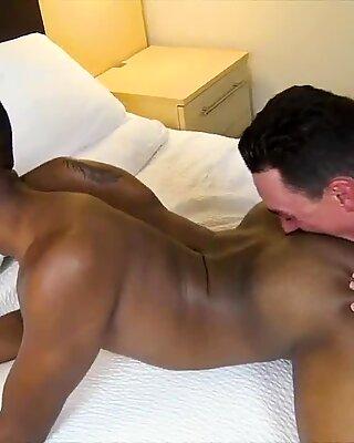 Hung jocks fuck bareback after eating ass and sucking big dick
