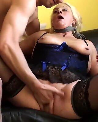 PASCALSSUBSLUTS - gasped grandma Carol gets raunchy anal sex
