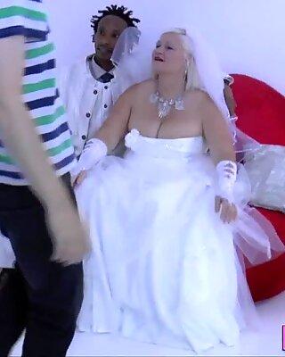 Granny takes black cock
