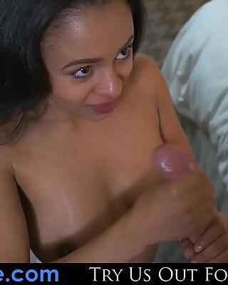 PHILAVISE-Anya Ivy is a super hot ebony fuck