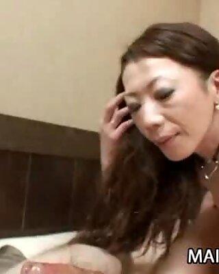 Japanese MILF Ryoko Matsuzaka Sucks and Fucks