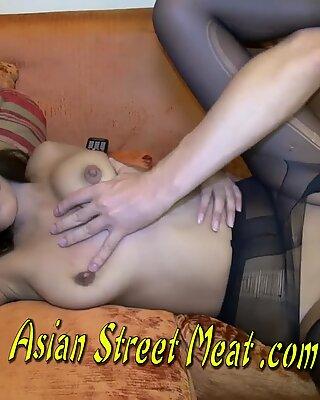 Bouncing Boobies On Burmese Babe