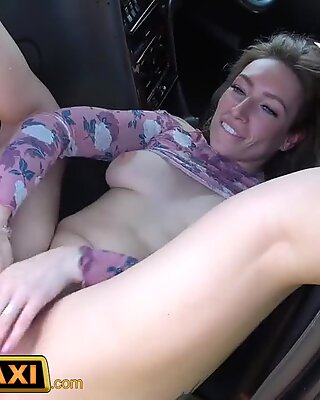 damsel Fake Taxi Horny Ava Austen can't resist a ginormous ample black cock