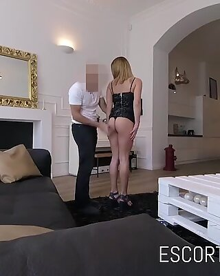 Cute Law Student Works As Escort For Fun and Ass Fucked