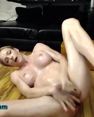 Big tits tranny jerks hard
