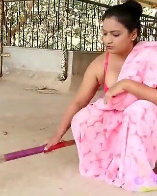 인도인 unsatisfied bhabi 메이킹 maza with hubbys mate