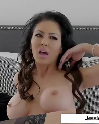 Jessica Jaymes is punished by a big hard dick, big boobs