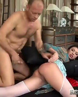 Eliska Cross gets hammered hard in her asshole in a hardcore anal porn video