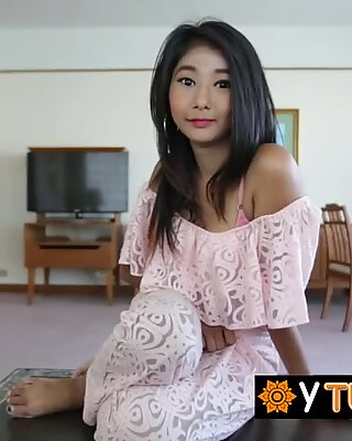 Thick asian honey moaning sensually from merciless penetration