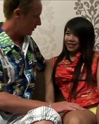 Handjob from Thai Babe