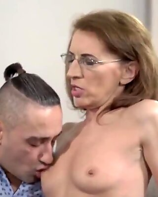 Old psychiatrist and her patient