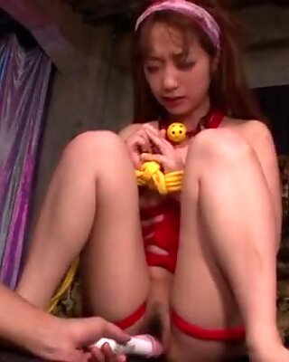 Wild bondage scenes with heavy porn for Sana Anzyu - More at Pissjp.com
