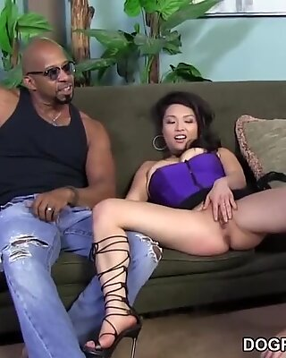 Mia Rider takes big black cock in her booty - cheating Sessions
