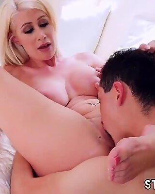 British milf striptease xxx Spying Juan Finally Got Fucked By Stepmom