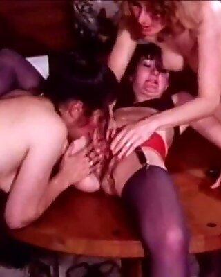 Three Women Take Turns Getting Off