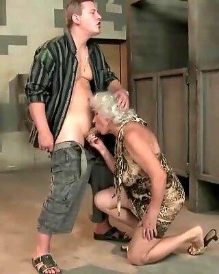 Blonde Grandmas Hard Sex Compilation