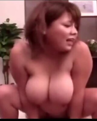 Chunky Asian Pounded To Orgasm