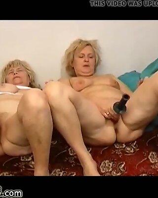 OmaPasS Homemade Granny Ladies Toying Masturbation