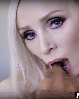 Big boobed MILF housewifes secret fetish comes true