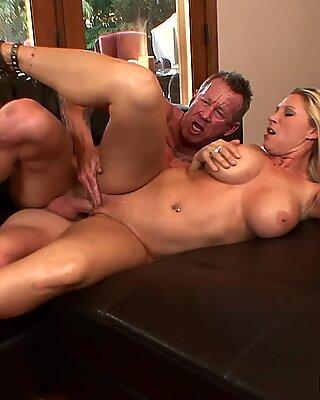 Busty Blonde Housewife Devon Lee Pierced Pussy