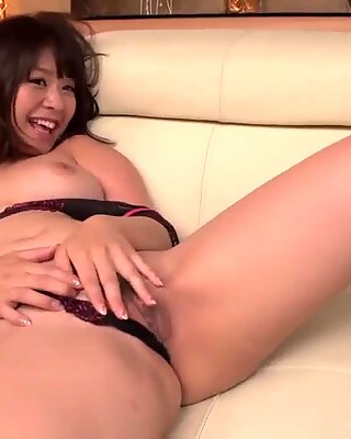 Wakaba Onoue tries young penis in her gorgeous pussy  - More at Japanesemamas com