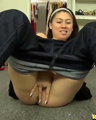 Asian girl Firstclassxxx solo masturbating