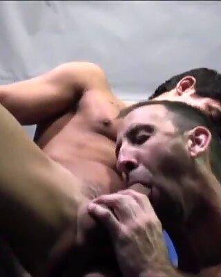 Nipple play sucking dick and fuck deep anal