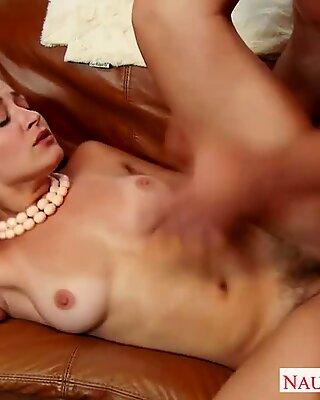 Wonderful Wife Dani Daniels takes his big dick in her hairy vagina Report this video