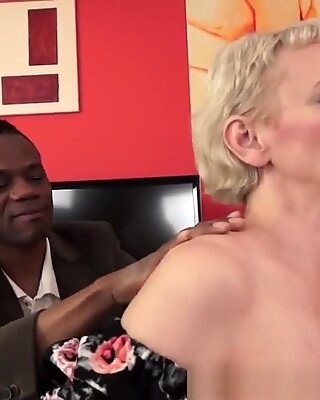 Cock Craving Granny Ir Banged After Massage