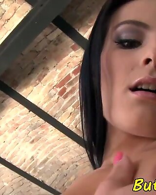 Cock riding eurobabe anally fucked after bj