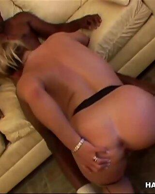 Milf Tries Big Black Cock