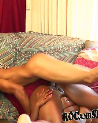 A super-naughty ebony GIRL TAKING MY jism!!