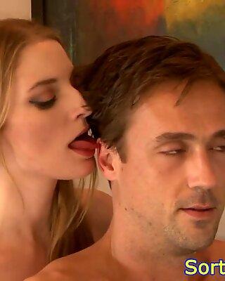 Redhead motherinlaw seduces guy into fucking
