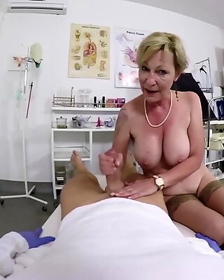 hairy grandma fucked by her doctor