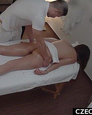 Beautiful Model Gets Hot Anal Massage