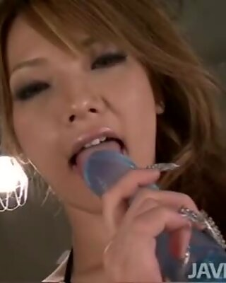 Japanese av model Sena Aragaki is hired to be a spokesmodel for a new rubber dildo and finds...