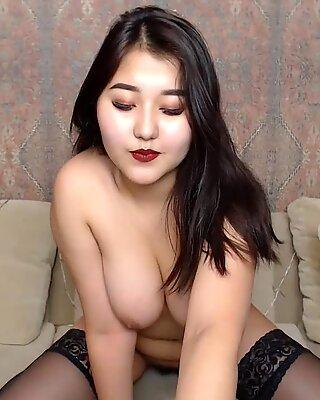gorgeous Korean doll on cam