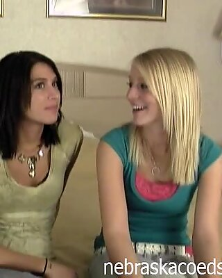 Two Ultra Hot Teen Roommmates Audition Part 1