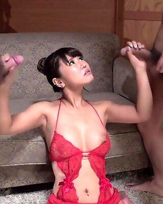 Япония рука работа порно сессии с Shinohara